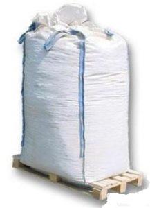 Velkoobjemový vak Big Bag 95 x 95 x 200 cm s vývodem a násypkou